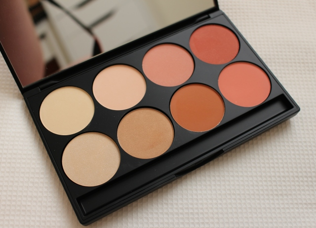 Gorgeous Cosmetics Blush and Highlighting Palette