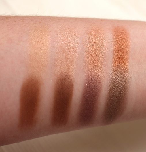 Gorgeous Cosmetics Everyday Beauty Palette Swatches